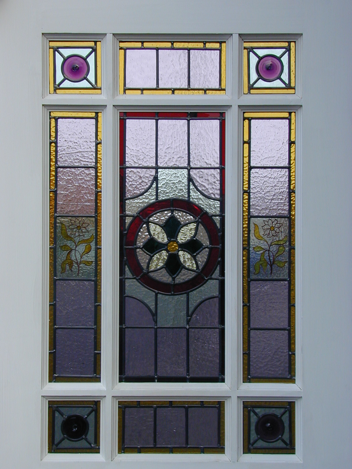 1600 #9E852D BESPOKE Doors & Decorative Glass pic Stained Glass Panels For Front Doors 40211200
