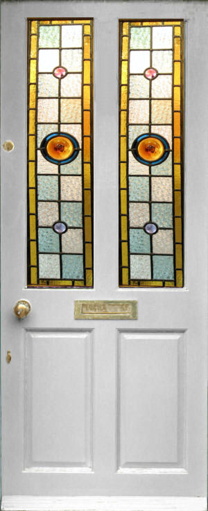 Budget Stained Glass Doors