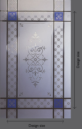 Amin Acid Etched Glass