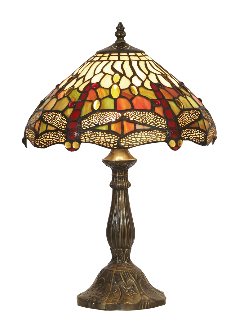 dragonfly tiffany table lamp collection. Black Bedroom Furniture Sets. Home Design Ideas