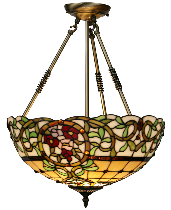 Noble Rose Tiffany Table Lamp Collection