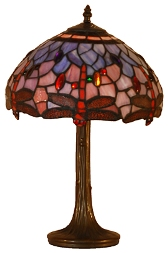 Blue Dragonfly Classic Tiffany Table Lamp Collection