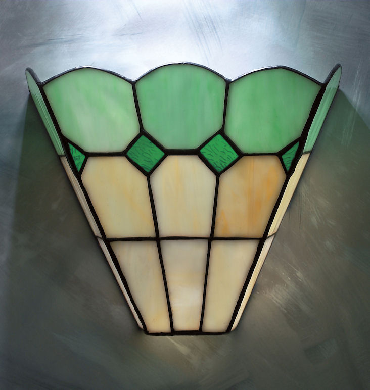 Outdoor Wall Light Stained Glass : Bistro Tiffany lamp collection